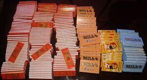 details sur prix choc lot de 190 paquets de feuilles a rouler zig zag et rizla