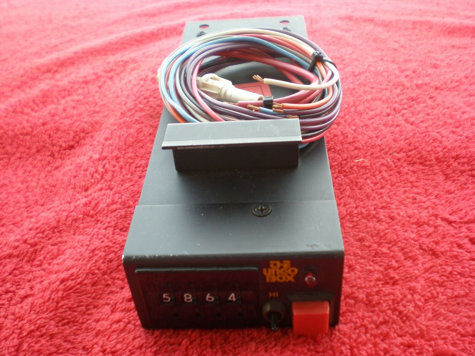 hight resolution of 1960 s porsche 911 the ungo box ultimate car alarm this alarm is rare