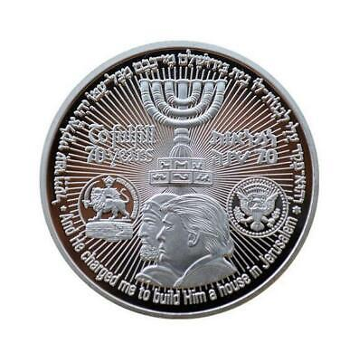 US Donald Trump Jewish Temple Jerusalem Israel Commemorative Silver Coin   eBay