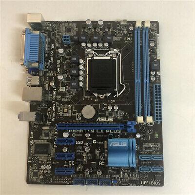 90%new * ASUS P8H61-M LX PLUS Motherboard LGA1155 DDR3 MICROATX 100%WORKING   eBay