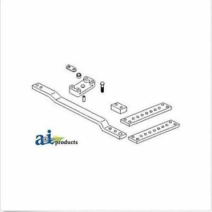 RE69232 Drawbar Assembly; Reversible, 50.8 MM Fits JD 8100