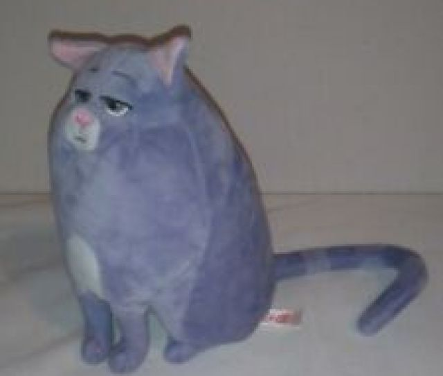 Item  The Secret Life Of Pets Chloe The Grey Cat Plush Soft Toy Animal Figure Ty Doll The Secret Life Of Pets Chloe The Grey Cat Plush Soft Toy Animal