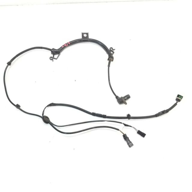 2008 05-08 AUDI A4 S4 RS4 REAR LEFT ABS WHEEL WIRE WIRING