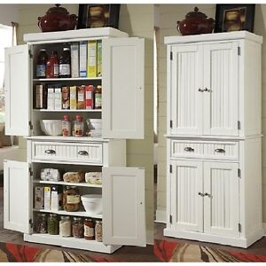tall kitchen pantry best floor storage cabinet utility closet distressed solid image is loading