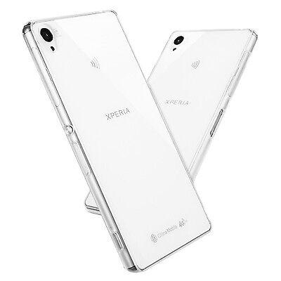 Soft Slim Clear TPU Case Cover for Sony Xperia Z2 Z3 Z4 Z5