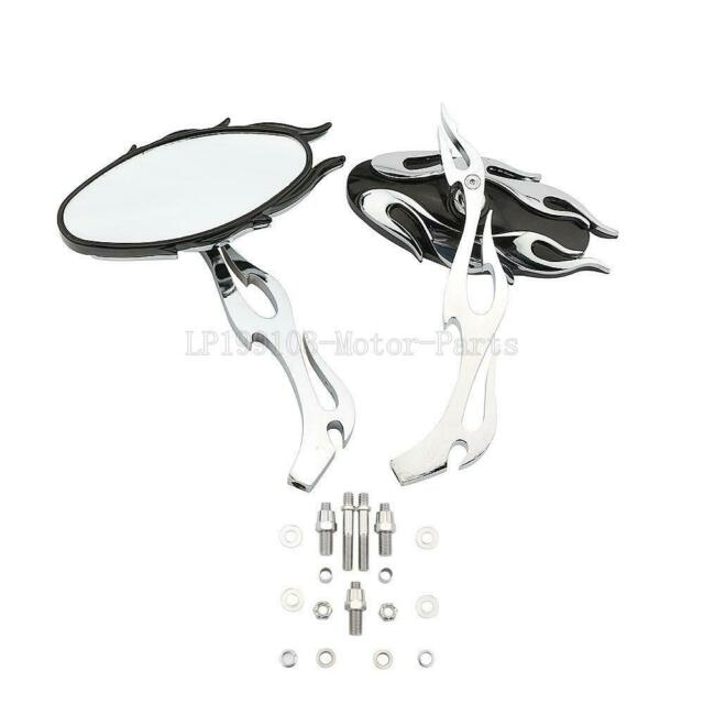 Chrome Motorcycle Rearview Mirrors For Yamaha V Star