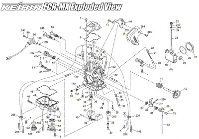 Husaberg FE FS FX Carburetor / Vaccum Release Plate