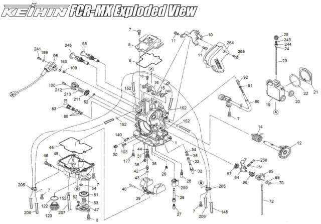Buy KTM 625 640 660 Lc4 Carburetor / Fcr-mx Air Cut Valve