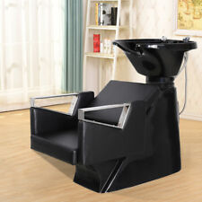 backwash chairs uk stretch chair covers for sale in south africa beauty salon equipment station unit spa bowl barber sink shampoo item 3 hair back wash basin couch