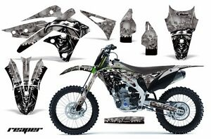 Dirt Bike Graphics Kit Decal MX Wrap For Kawasaki KX250F