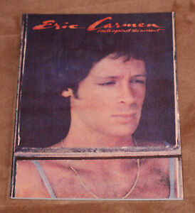 Eric Carmen - Boats Against The Current - 1977 sheet music songbook - She Did It | eBay