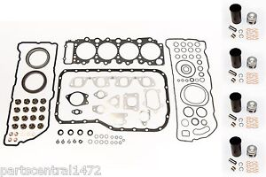 Overhaul Gasket Set + piston Liner Kit for Chevrolet GMC