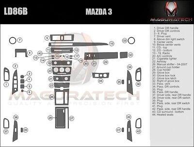 Fits Mazda 3 Sedan 2004-2007 With Manual Trans Large