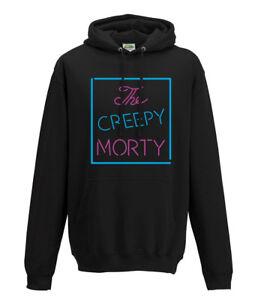 El signo espeluznante Morty Rick y Morty Sudadera con capucha para hombre Geek