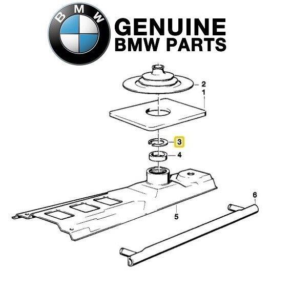 For Shift Lever Lock Snap Ring Genuine for BMW E23 E24 E28