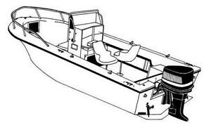 7oz STYLED TO FIT BOAT COVER HENRY O. CHALLENGER 170 CC O