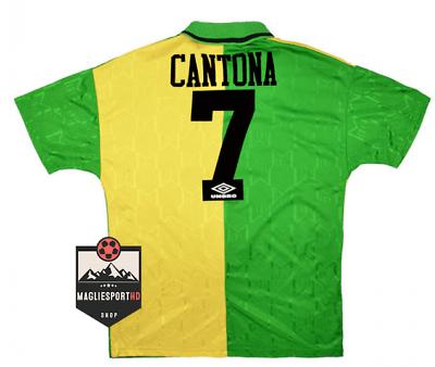 Eric daniel pierre cantona (french pronunciation: Grid Eric Cantona Manchester United 1992-1994 - Football ...