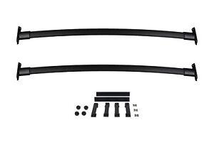 2011-2015 Ford Explorer Black Roof Rack Cross Bar Set OEM