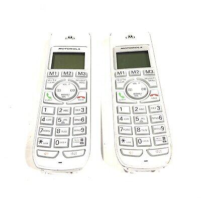 (2) Motorola DECT 6.0 Cordless Backlit Phone Replacement