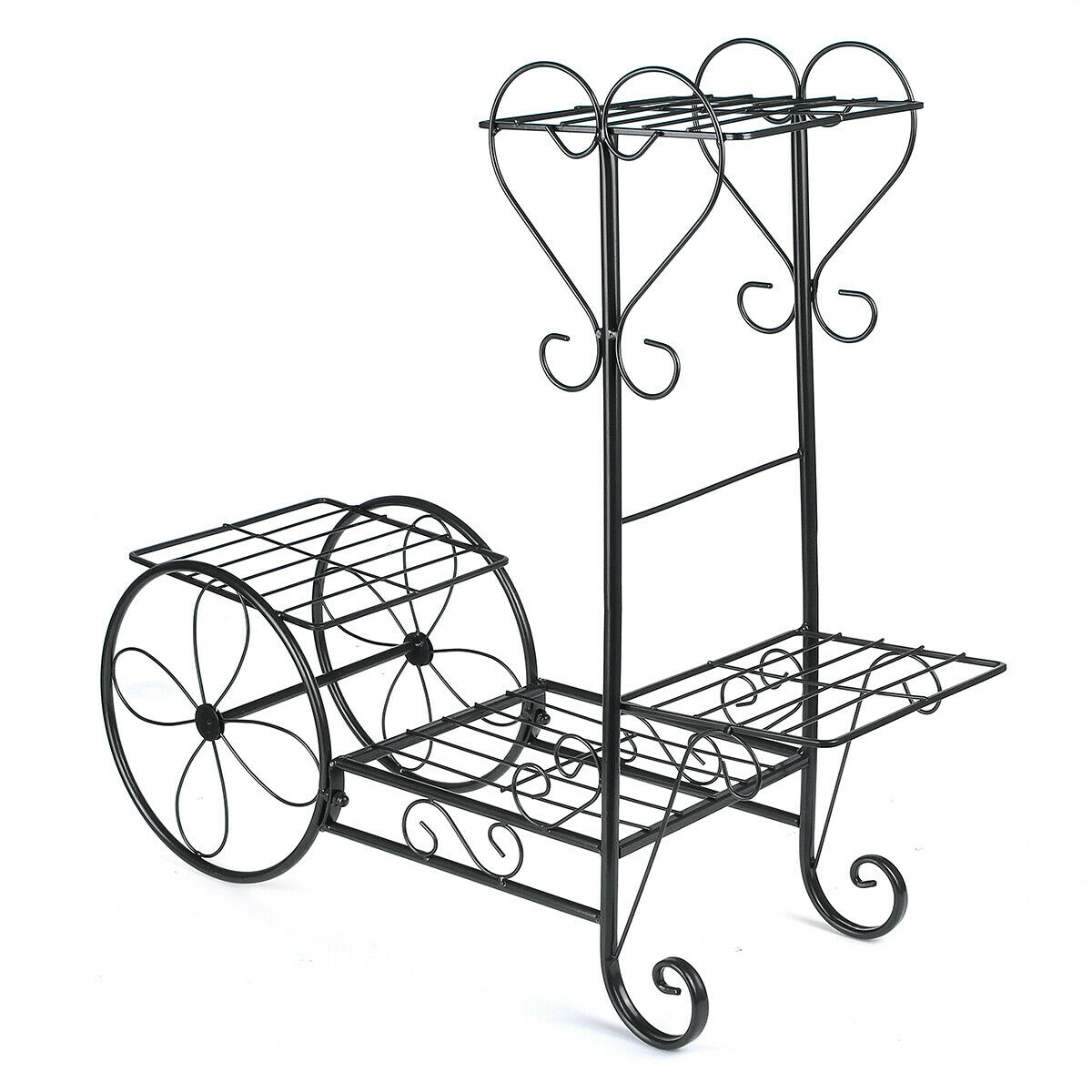 shop online up to 80% off 4 Tiers Metal Plant Flower Stand