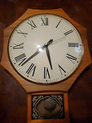 United Clock Corp : united, clock, Vintage, 1960s, United, Clock, Hardwood, Brooklyn