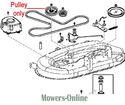 John Deere Deck Idler Pulley GY20629 X110 X120 X125 X140