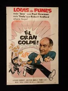 Faites Sauter La Banque ! : faites, sauter, banque, FAITES, SAUTER, BANQUE!, (1964), LOUIS, FUNES, CLECH, ARGENTINE, POSTER