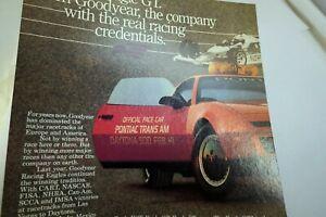 Pontiac Grand AM Car Advertisement Ad Magazine clipping