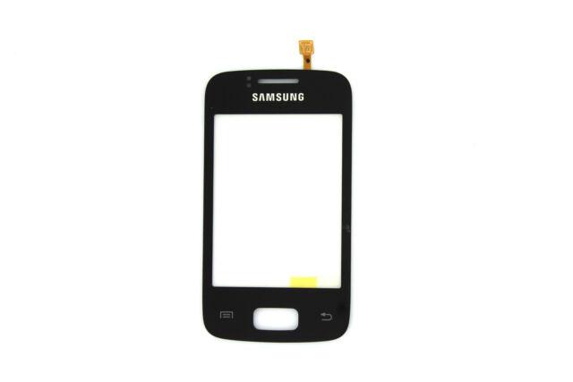 Genuine Samsung Galaxy Y Duos S6102 Black Touchscreen