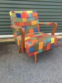 MID CENTURY MODERN Rocker / Swivel Chair | eBay