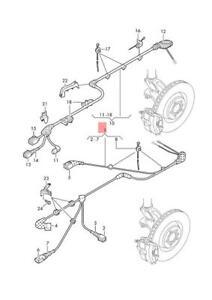 Genuine VW SEAT AUDI SKODA Wiring Harness For Speed Sensor