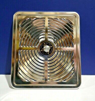 new fasco vert discharge ventilation fan exhaust 648 anodized aluminum vintage ebay