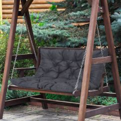 Swing Chair Replacement Winnie The Pooh High Banner Outsunny 2 Seater Garden Bench Seat Pad Image Is Loading
