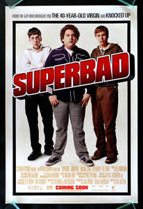 SUPERBAD 1SH ORIGINAL MCLOVIN DS MOVIE POSTER SUPER BAD