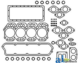 A-836287M1 Massey Ferguson Parts GASKET SET UPPER 202, 204