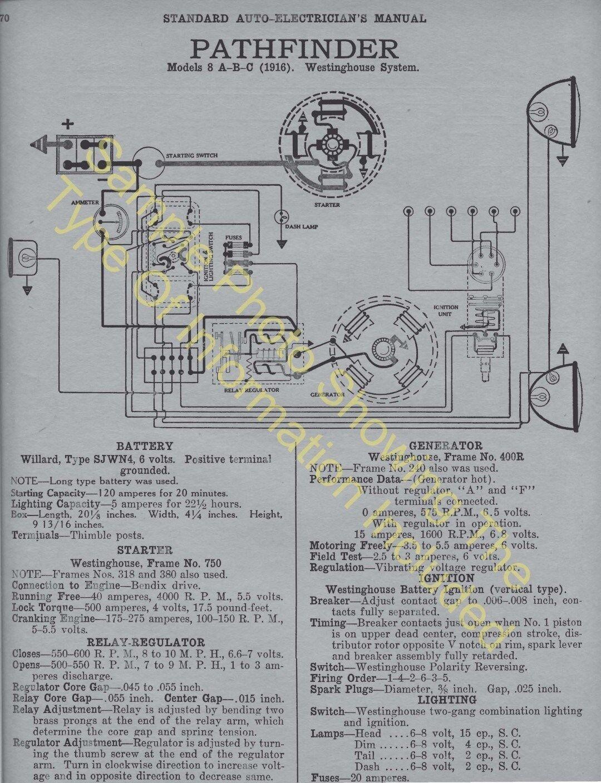 hight resolution of 1920 1921 auburn models 6 39 6 51 car wiring diagram electric system specs 506