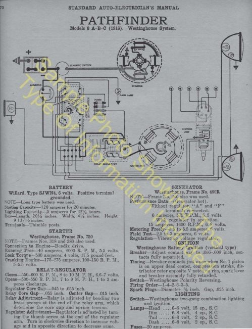 small resolution of 1920 1921 auburn models 6 39 6 51 car wiring diagram electric system specs 506