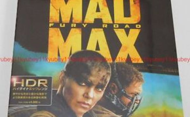 New Mad Max Fury Road 4k Ultra Hd Uhd Blu Ray Japan