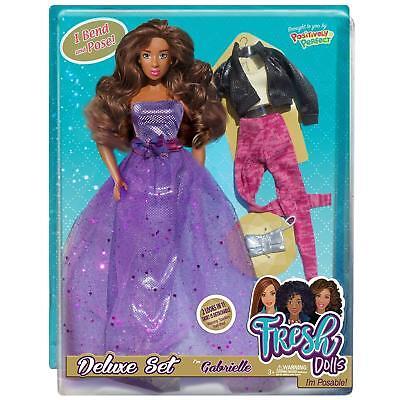 African American Doll Gabrielle 12 Fresh Fashion Doll Natural