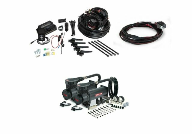 Air Lift 27690 3H Ride Height System W 2nd Harness & Viair