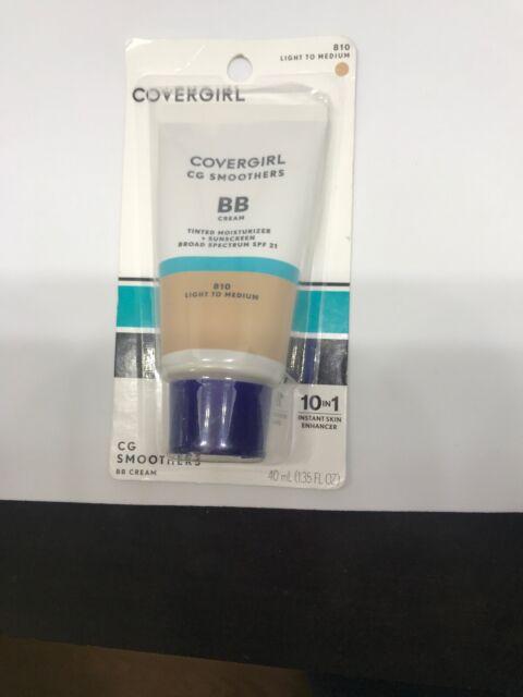 Covergirl CG Smoother BB Cream 810 Light To Medium | eBay