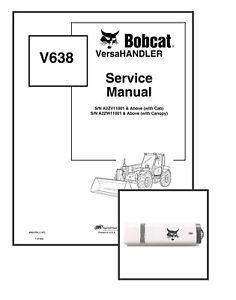 Bobcat V638 VersaHANDLER Workshop Repair Service Manual