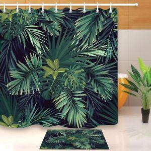 waterproof fabric tropical palm beach