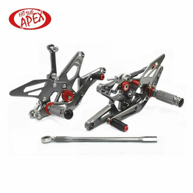 Adjustable Motorcycle Rearsets Rear Set Footrests For