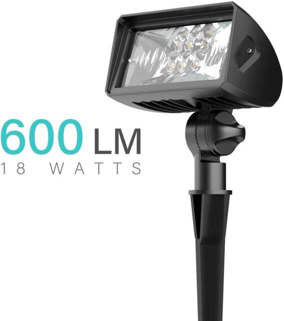 malibu 18 watt led low voltage landscape floodlight w optimal range wall spotlig