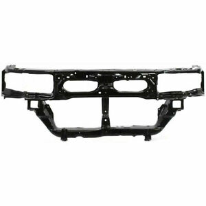 New Black Steel Radiator Support Assembly Fits 99-01