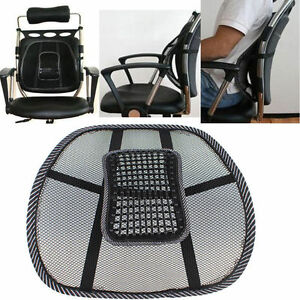 back support office chair slipcovers dining chairs car sit right comfort mesh seat lumbar image is loading