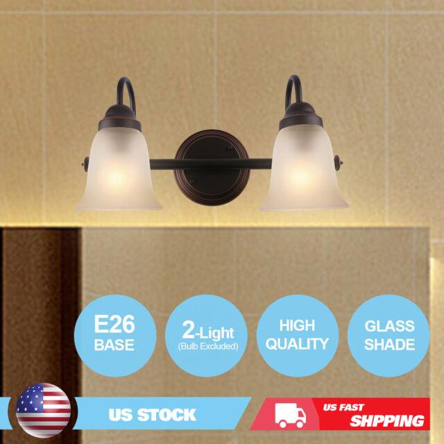 7pandas bathroom vanity lights over mirror 2 light indoor wall sconce lighting