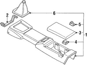 OEM NEW 1990-1997 Mazda Miata Base 1.8L Black Center