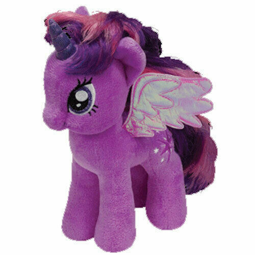 Ty My Little Pony Twilight Sparkle 8in Plush Beanie Baby For Sale Online Ebay